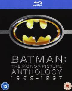 Batman - The Motion Picture Anthology 1989-1997 [Blu-ray] [Region Free]