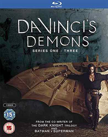 Da Vinci's Demons Box Set Series 1-3 [Blu-ray] [2016]