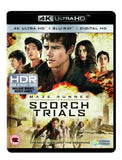 Maze Runner: The Scorch Trials [4K Ultra HD Blu-ray + Digital Copy + UV Copy] [2015]