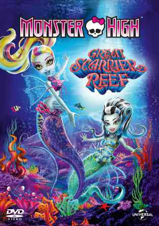 Monster High: Great Scarrier Reef [DVD] [2015]