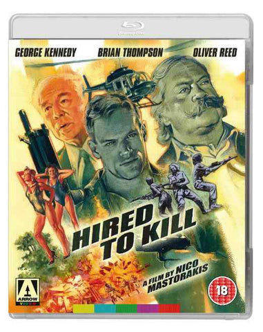Hired To Kill Blu-Ray [Region A & B & C]