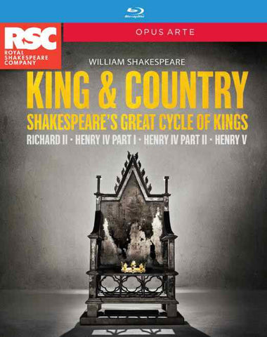 King And Country Box [Royal Shakespeare Company] [OPUS ARTE: BLU RAY] [Blu-ray]