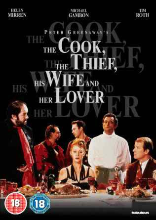 The Cook, The Thief, His Wife And Her Lover [DVD]