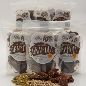 LIMITED STOCK AVAILABLE 5 seeds chocolate granola