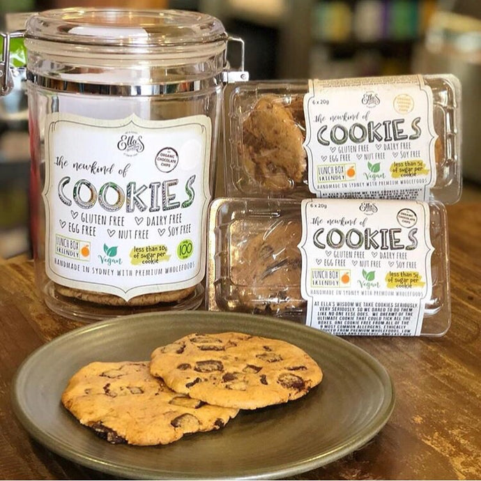 **SPECIAL 2018** COOKIE JAR + 24 LARGE MIXED COOKIES