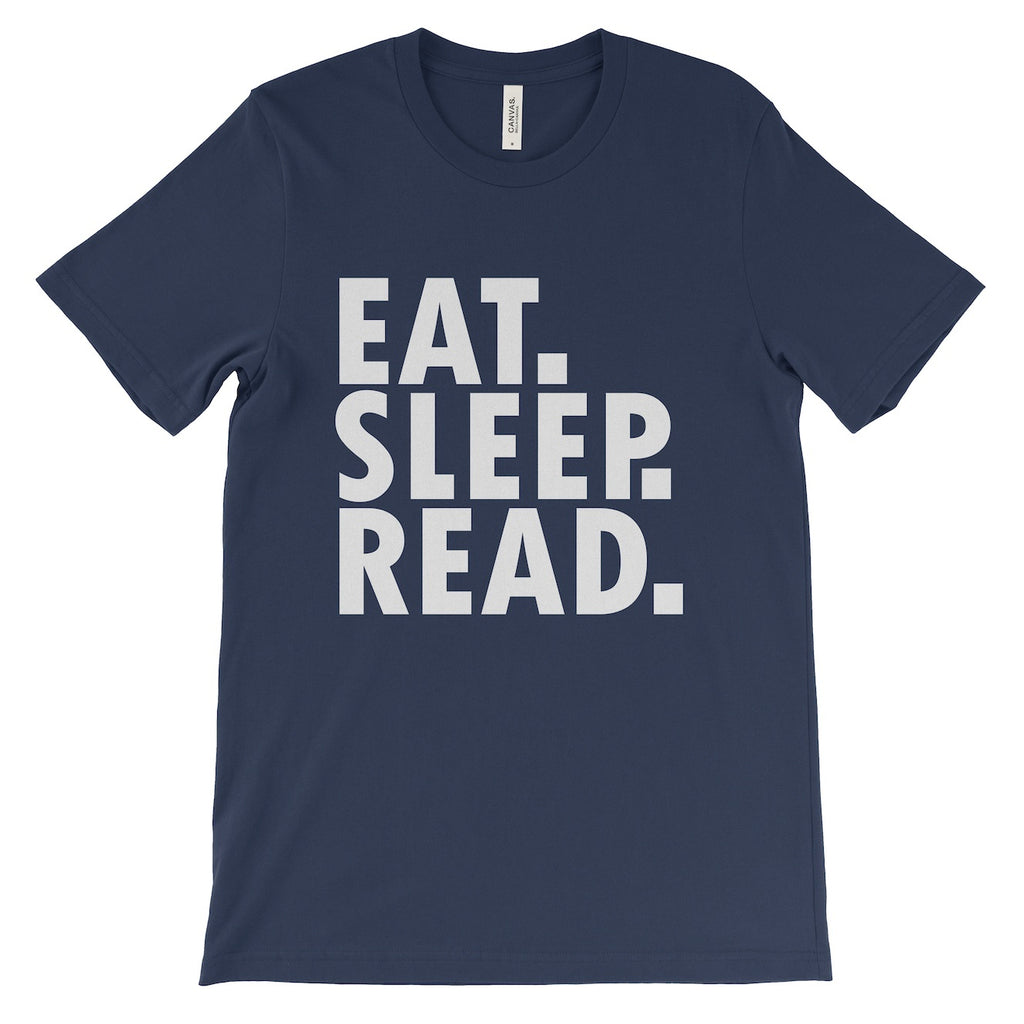 Unisex - 'Eat, Sleep, Read' Tee