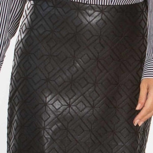 Isaacs Hexagon Custom Pencil Skirt