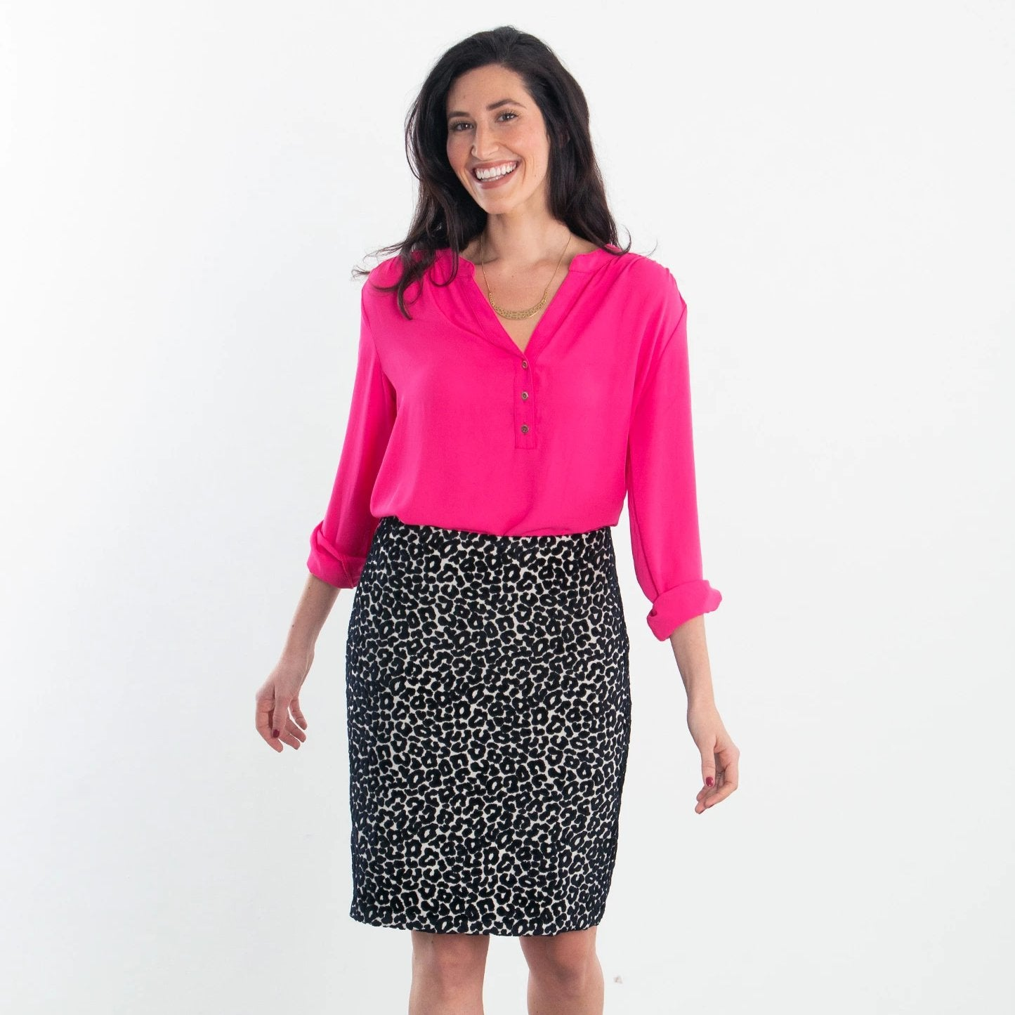 The Chenille Leopard Skirt
