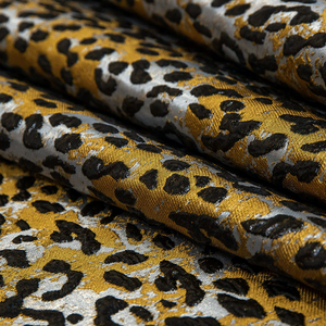 Cheetah Brocade Gold