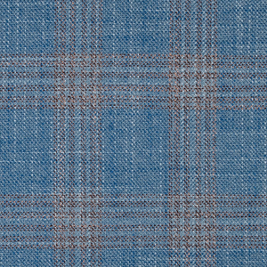 Bamboo Blue Plaid