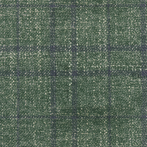 Bamboo Grass and Navy Plaid
