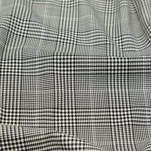 Italian Glen Plaid Wool