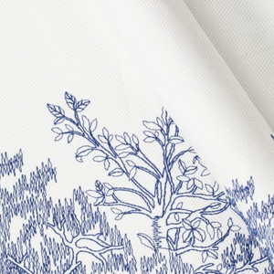 Peaceful Branches Embroidery Skirt