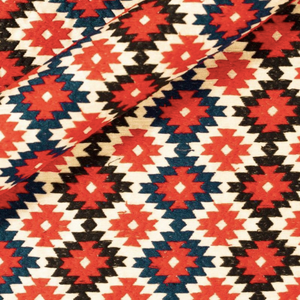 Ricamo Aztec Embroidered Skirt