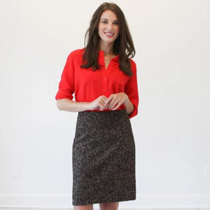 The Jacob Boucle Skirt