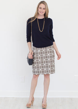 Marissa Gray Custom Pencil Skirt