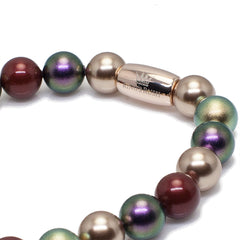 Exclusive King's Authentic Swarovski® Crystal Pearl Bracelet