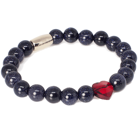 Exclusive King's Passion Red Swarovski® Crystal Heart Bracelet