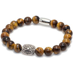 Exclusive King's Ornate Bead & Tiger's Eye