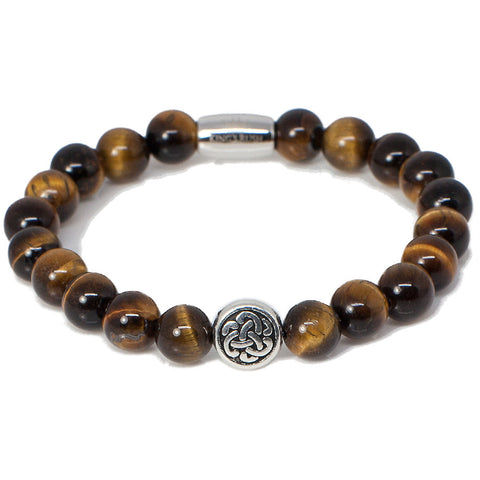 Exclusive King's Celtic Tiger's Eye Bracelet