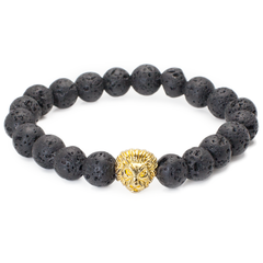 Lion Head Beaded Bracelets