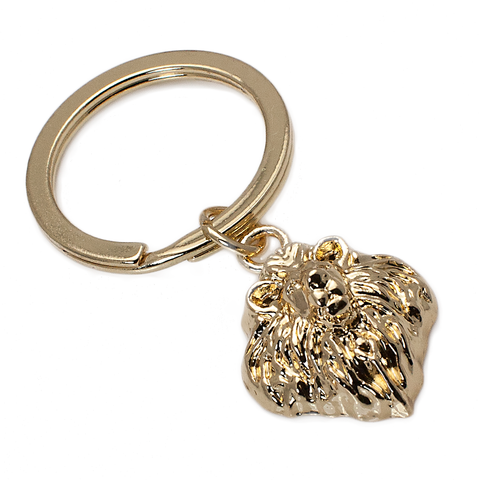 Lion Head Keychain