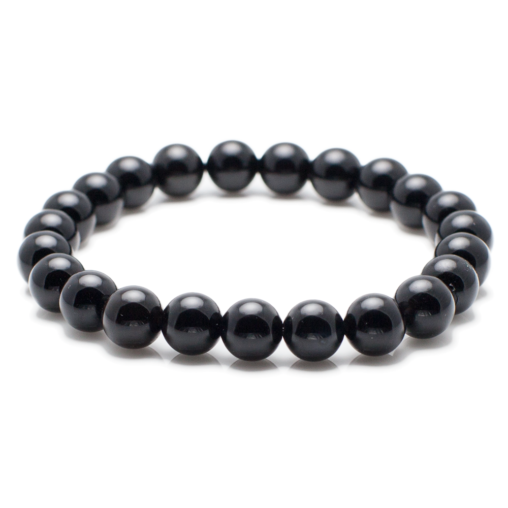 Exclusive King's Simple Polished Onyx Bracelet-King's Rush-King's Rush