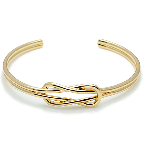 Square Reef Knot Cuff-King's Rush-King's Rush