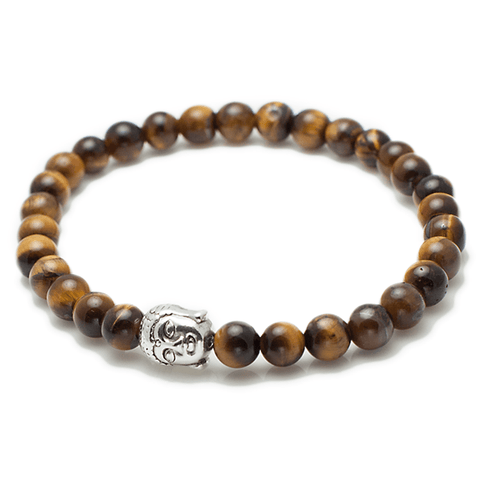 Exclusive King's Buddha Head Tiger's Eye Bracelet-King's Rush-King's Rush
