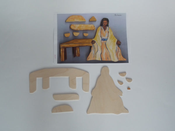 P11 - Leaven - Woman, Table & Accessories - Kit