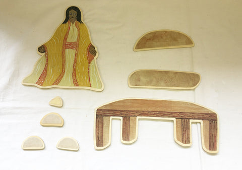 P11R  - Woman, Table & Accessories - Leaven Ready Made