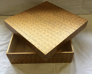 P13 - Distressed Gold Parable Box
