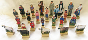 S10B - Figures from Around the World, Good Shepherd & 5 Sheep