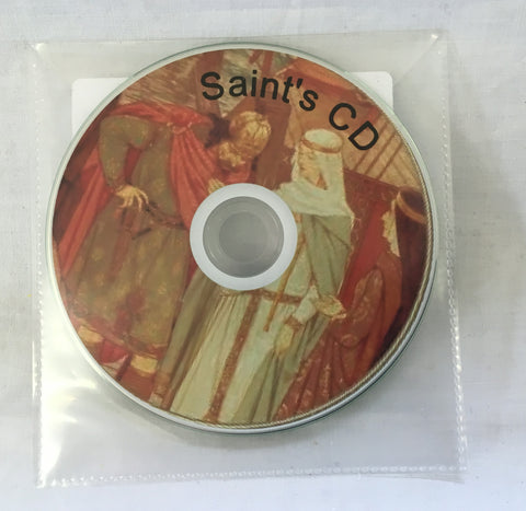 Saints CD Or USB Flash Drive