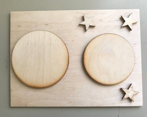A3AK - Creation Plaques Set of 7 - KIT