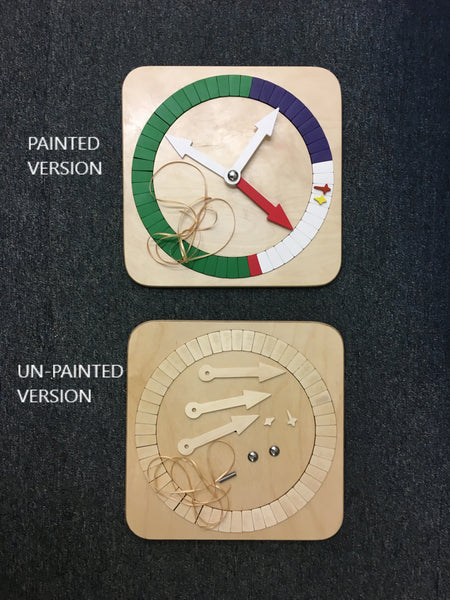A1A - Liturgical Year Calendar (Kit - Not Painted)