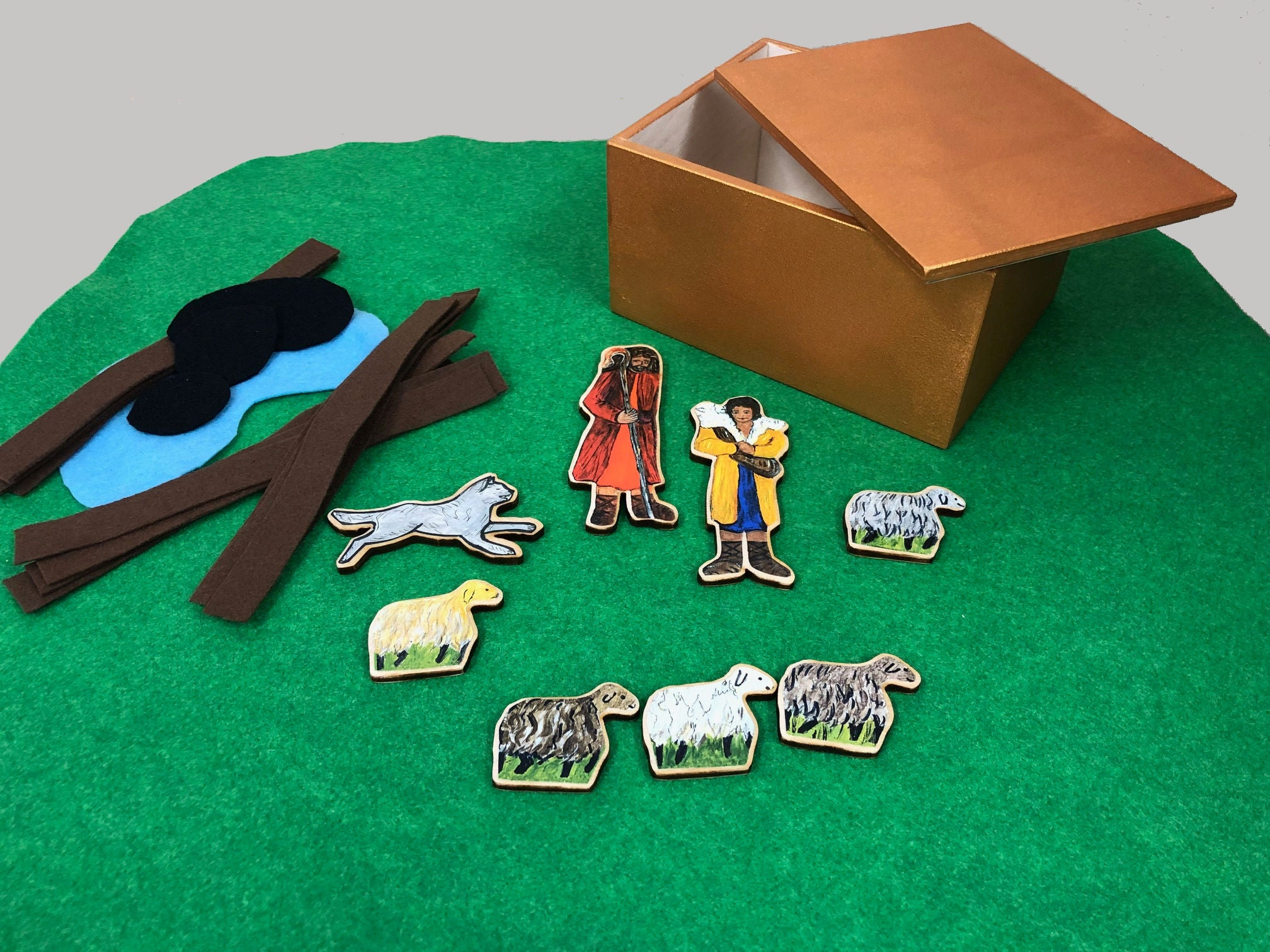 "GHGS - Godly Play at Home ""Good Shepherd"""