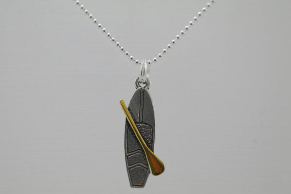 SUP Stand Up Paddle Board Necklace by Shantica Jewelry