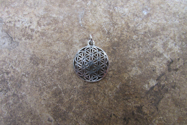 Flower of Life Charm Pendant for Bracelets Anklets and Necklaces