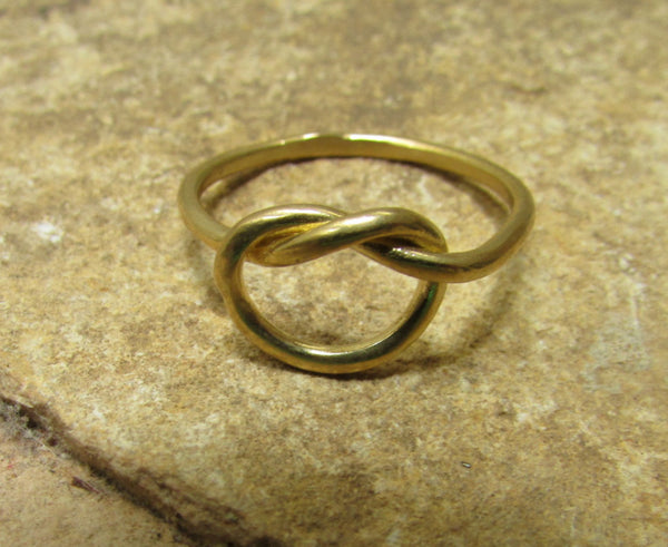 Goldfilled Love Knot Friendship Ring