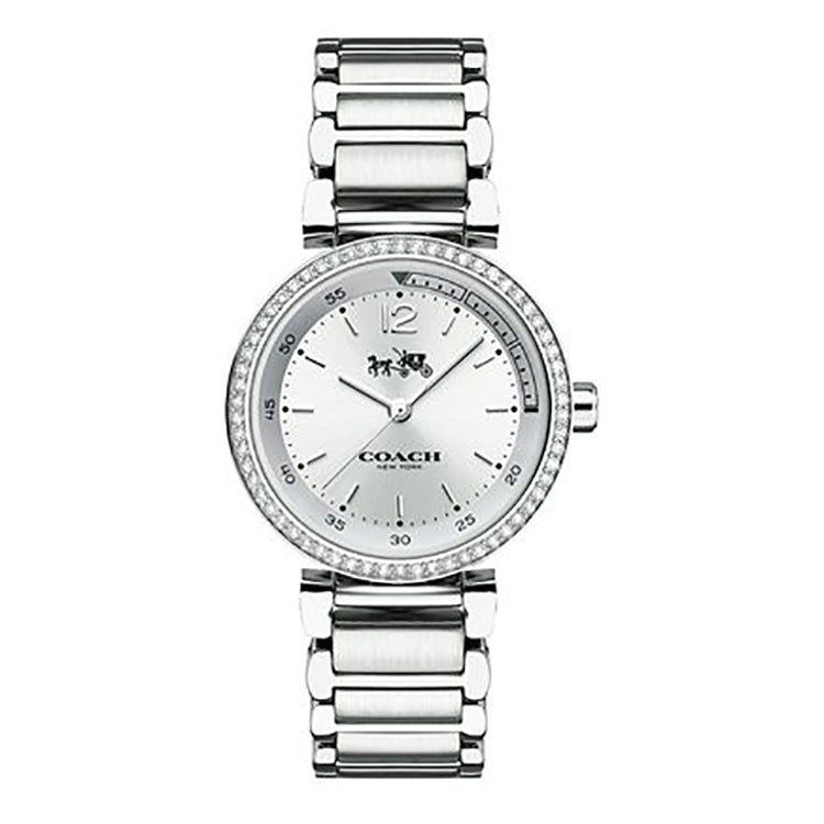 Sports Stainless Steel Silver Dial Ladies' Watch