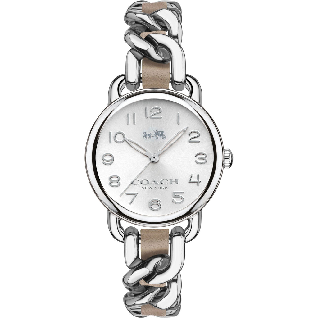 Delancey Stainless Steel And Silver Tone Dial Ladies Watch