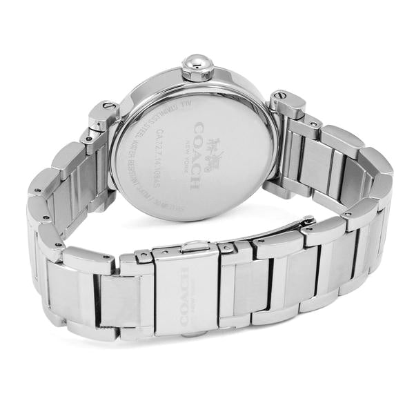 Madison Stainless Steel Cream Dial Ladies' Watch