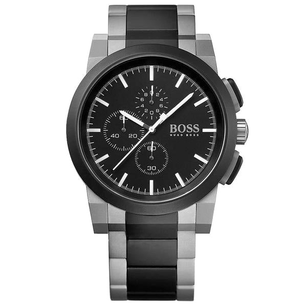 Neo Chronograph Black Dial Two-tone Men's Watch