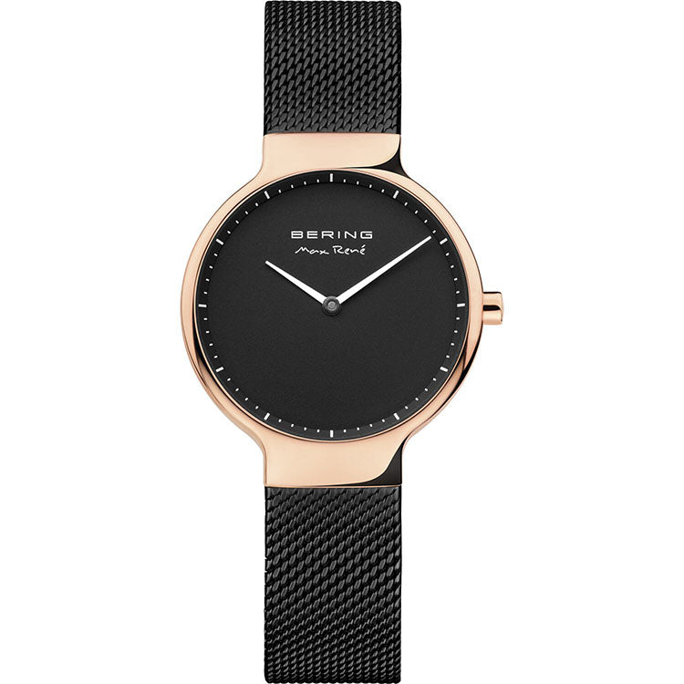 Bering 30mm Max Rene Black Stainless Steel Ladies' Watch