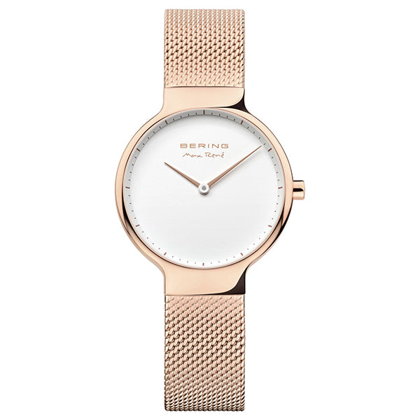 Bering 31mm Max Rene Rose Gold Stainless Steel Ladies' Watch