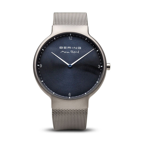 Bering 40mm Max Rene Gunmetal Men's Watch
