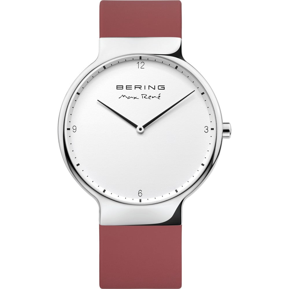 Bering 40mm Max Rene Red Rubber Men's Watch