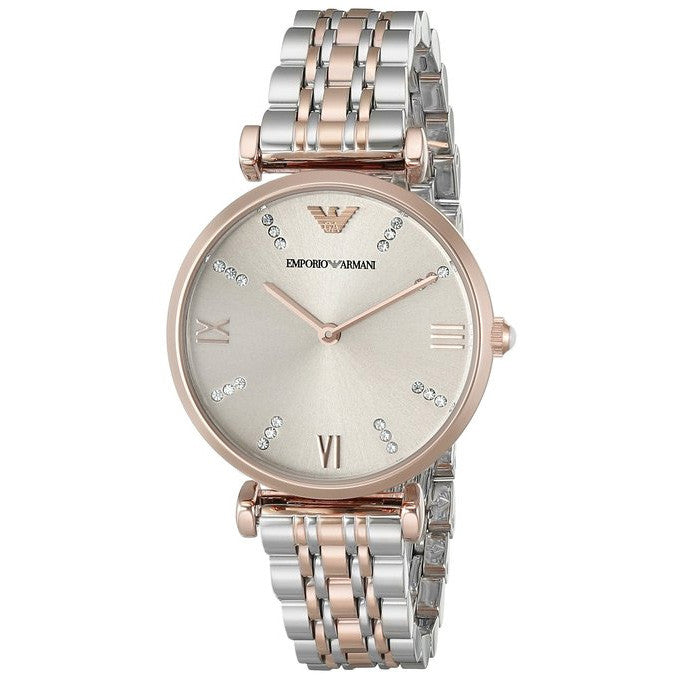 Classic Grey Dial Ladies Watch