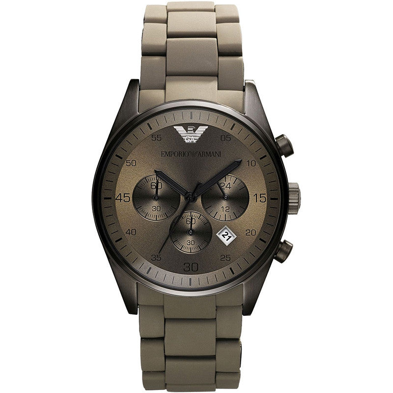 Sportivo Chronograph Brown Dial Unisex Watch